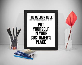 The Golden Rule For Every Business Man Is This