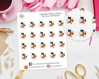 McDonalds Planner Stickers for Erin Condren, Kikki K, Happy Planner, TN, Filofax, Nuggets, Fries, Drink, Takeaway, Fast Food