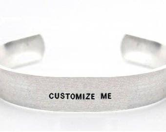 customisable bracelet- sterling silver bracelet- custom bracelet- personalised bracelet- custom jewellery- personalized jewellery- 2 sided