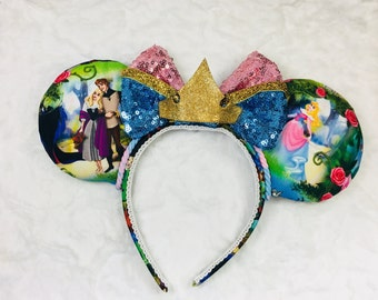 Sleeping Beauty Ears, Aurora Ears, Maleficent Ears