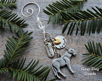 Donkey Ornament, Pet Donkey Memorial, Personalized Donkey Ornament, Read Full Listing Details