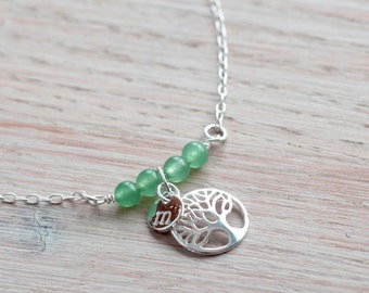 Tree of Life Necklace, Best Friend Necklace, Personalised Necklace, New Beginnings Necklace