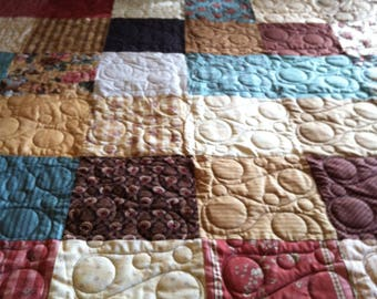 Teal and Brown Big Blocks