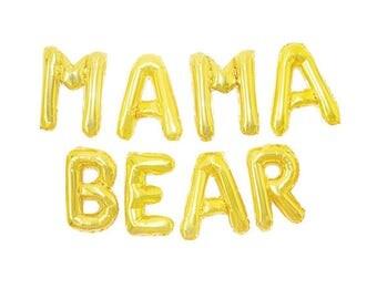 The 'Mama Bear' Balloon Banner