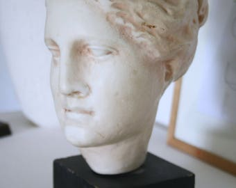 Head of Hygieia plaster from a sculpture of Paros Scopas