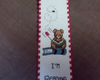 Handcrafted Counted Cross Stitch Bookmark