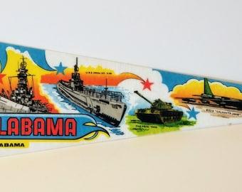USS Alabama - Vintage Pennant