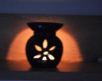 Essential Oil Wax Warmer / Diffuser / Essential Oil Burner / Ceramic Aromatic oil diffuser  / tealight Diffuser / Wax Melter / Soy Wax Melt