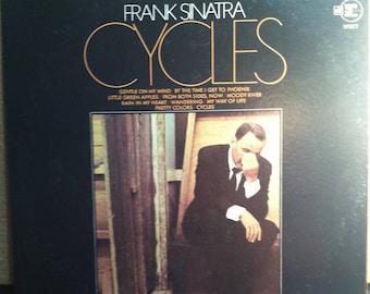 Frank Sinatra Cycles Vinyl Record Album