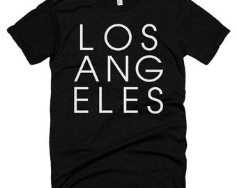 Los Angeles Letters T-shirt | Los Angeles California