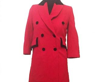 Girls wool coat   Etsy