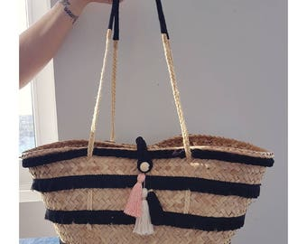 "Basket ""Bohemian black"""