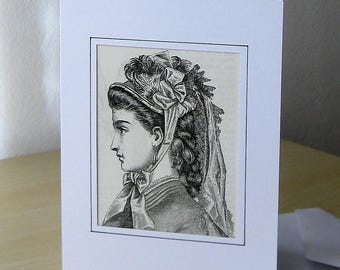 Greeting card, print, Passepartout