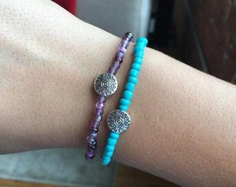Turquoise Sunburst Bracelet
