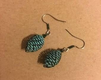 Alaskan Alder Cone Earrings