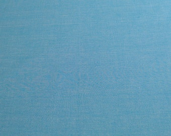 Interweave Chambray-Lake Cotton Fabric from Robert Kaufman Fabrics