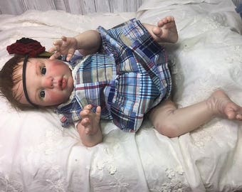 "Reborn Baby Girl ""Gracie"" by Believable Babies for People with Dementia and Alzheimer's- Doll Therapy for Memory Care"