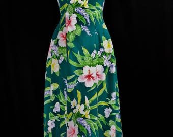 Vintage Hawaiian Dress (Island Fashion Made in Hawaii)