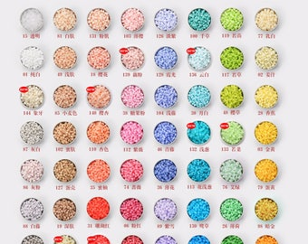 5mm H-Series (152 Colors) -  High Quality Perler Beads Refill (Color No. : H61 to H120)