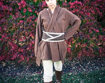 Custom Handmade Jaina Solo Inspired Female Jedi Tunic Set 501st/Rebel Legion Standards May Apply