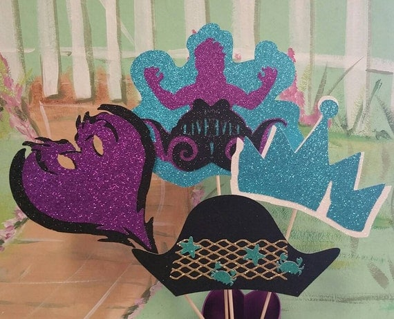 Descendants 2 Centerpiece Descendants Party Decorations Uma