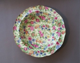 """A Royal Winton Potteries dish decorated in the """"Kew"""" pattern - in the sought after Chintz range"""