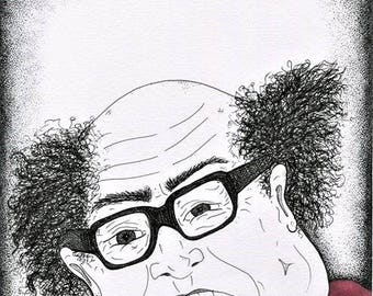 Original Danny DeVito Caricature