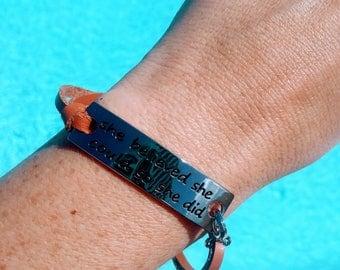 Inspirational Freedom Bracelet