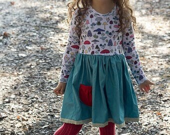 Girls fall dress - girls outfit for Thanksgiving - girls fall outfit - toddler outfit for fall - girls dress for fall - Thanksgiving dress
