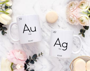 Chemistry Mug | Science Mug | Chemistry Coffee Mug | Chemistry Teacher Gift | Periodic Table Mug | Periodic Table Of Elements | Science Gift