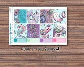 Sea Magic Full Boxes | Stickers | ECLP | Happy Planner | Recollections Planner