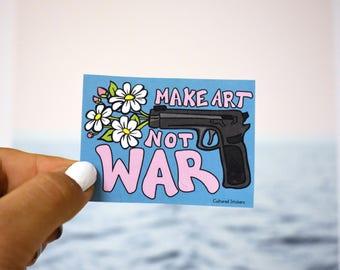 Make Art Sticker, Waterproof