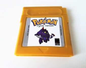 Pokemon Pyrite Gameboy Color (GBC, GBA) Custom English Game Boy (Fan Made) Saves!