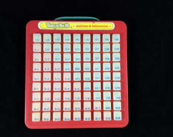 Touch N Tell Me - Addition and Subtraction - Mathematical Vintage Learning Toys