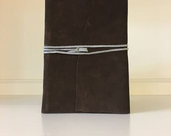 Leather Bound Notebook - Large
