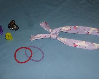 Unicorn headband, purple unicorn headband, white unicorn headband, one sz fits all headband, gifts for under twenty dollars
