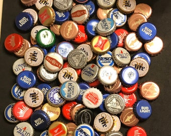 100 beer bottle caps