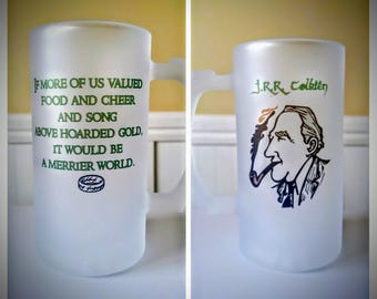 J.R.R. Tolkien Frosted Beer Stein