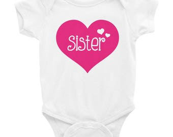 Sister Shirt - Little Sister Shirt - Welcome Home Outfit - Girl's Welcome Home Shirt - Sister Bodysuit - Little Sister Bodysuit - Girl Shirt