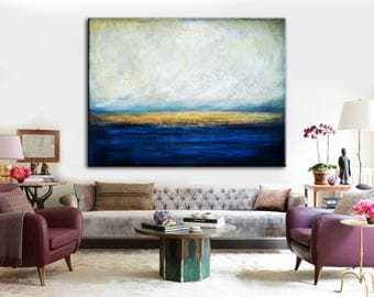 Original Art Large Canvas Abstract Texture Knife