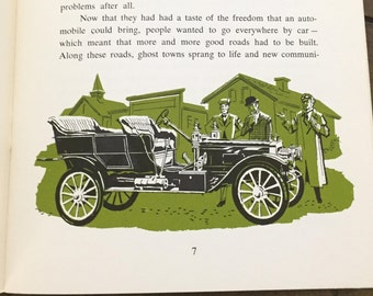 Vintage The Evolution of Mass Production ~ By Ford Motor Company - Automobile Production Book - 1956 Ford Motor Company Book - Paperback