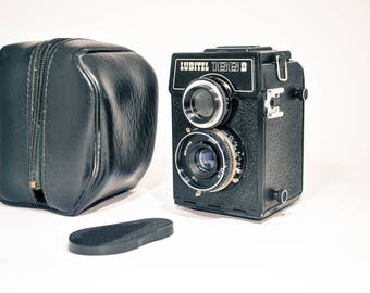 LUBITEL 166B LOMO Camera, 120 mm TLR Film Camera, Free Shipping