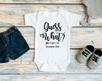 Pregnancy Announcement Ideas - Pregnancy Reveal To Family - Pregnancy Announcement Family - Guess What Pregnancy Announcement - Pregnancy