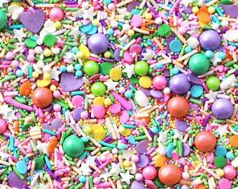 Bloom Boom Sprinkle Blend, Easter Sprinkles, Pastel Sprinkles, Edible Sprinkles, Fancy Sprinkles, Sprinkle mix