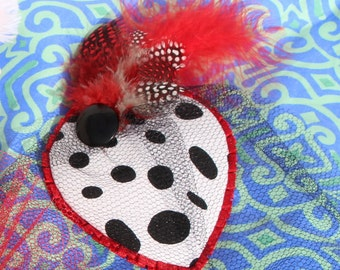 Cruella De Ville Fascinator 101 Dalmatians Disney Dapper Day Bounding