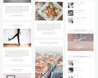 Renegade WordPress Divi Blog & Shop Theme. Modern Divi Child Theme Layout Woocommerce Responsive Lifestyle Beauty Fashion Custom Website