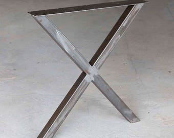 H 28 inch, W5037A2 Plus Dining Table X Legs, 1 Pair
