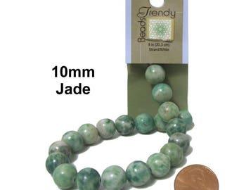 Jade Beads x 20