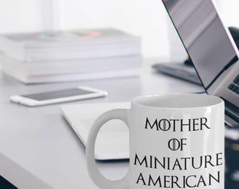 Miniature American Shepherd Mug - Mini American Gift - Miniature American Shepherd Dog - Mother Of Miniature American Shepherd