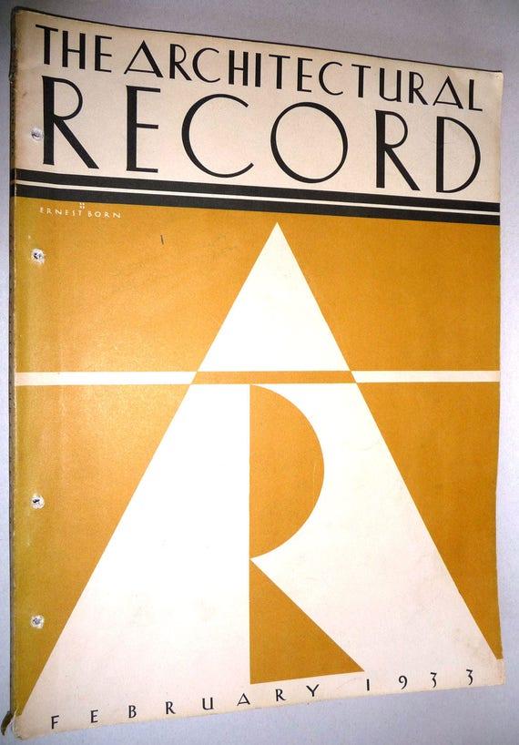 The Architectural Record Vol. 72 No. 3, February, 1933 - Architecture Building Design